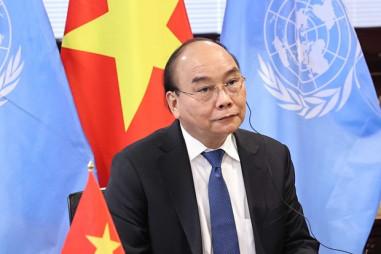 Chủ tịch nước tham dự và phát biểu tại Hội nghị về chấm dứt đại dịch