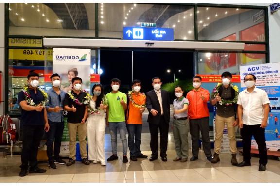 Quảng Bình đón những vị khách du lịch đầu tiên từ TP.HCM