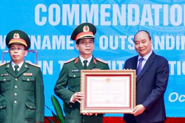 """Hoàn thành xuất sắc vai trò """"Sứ giả hòa bình"""" của Việt Nam"""